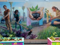 Seeds of Change, Mural for Roosevelt Public Elementary School of Long Beach
